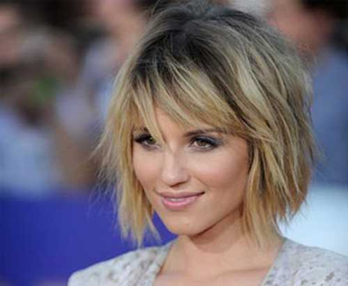 Short Haircuts For Round Faces-21