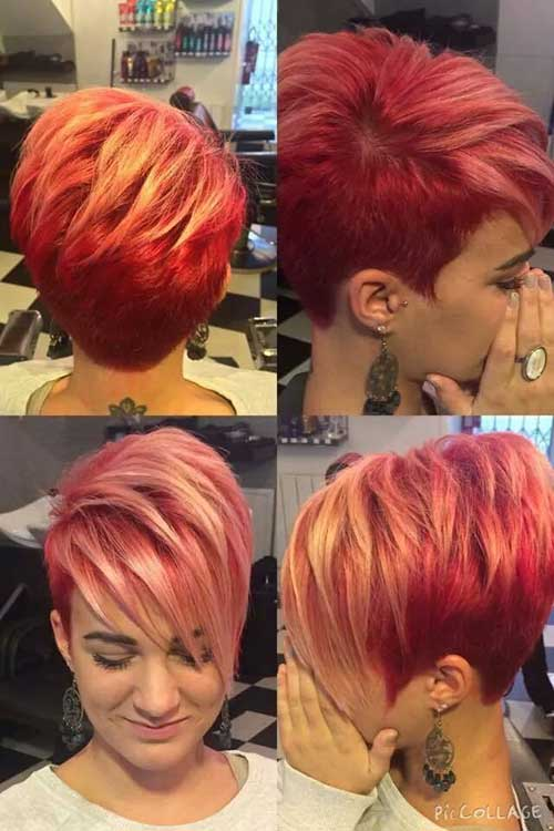 Hair Color for Short Hair-22