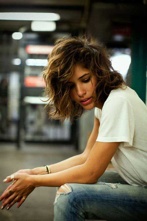 Hairstyles For Girls With Short Hair-23