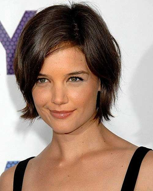 katie holmes short bob the best short hairstyles for