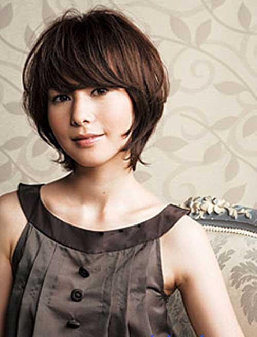 Short Haircuts For Round Faces-23