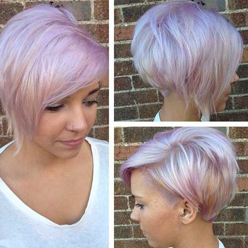 Hair Color for Short Hair-24