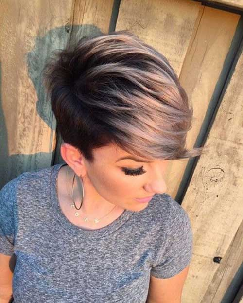 Hairstyles For Girls With Short Hair-24