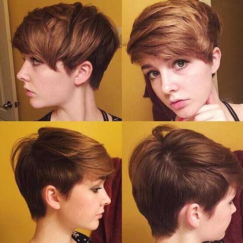 Hairstyles For Girls With Short Hair-25