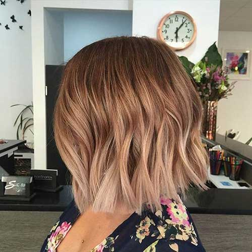 Blonde Ombre Short Hair-28