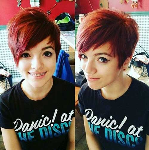 Cute Short Hairstyles-29