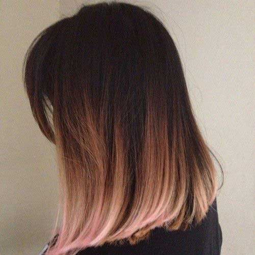 Blonde Ombre Short Hair-30