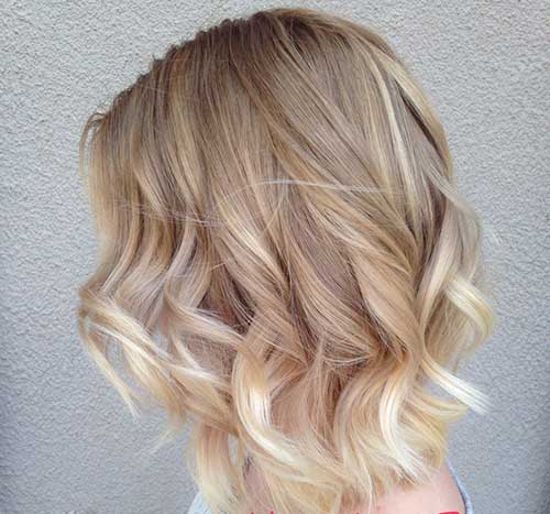Blonde Ombre Short Hair-31