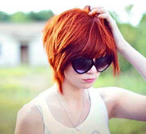 Cute Short Hairstyles-31