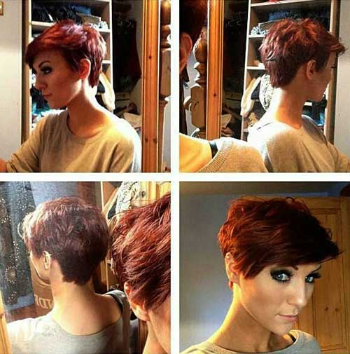 Cute Short Hairstyles-40