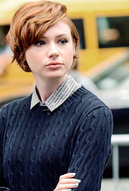 Celebrity with Short Hair-6
