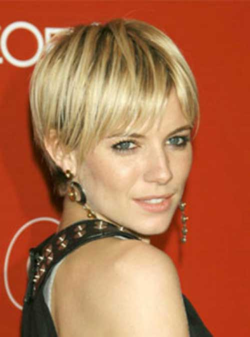 Celebrity with Short Hair-7