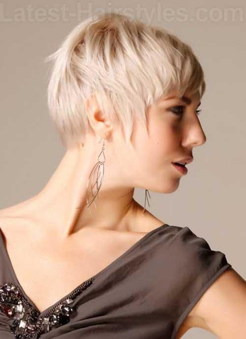 Cute Short Haircuts for Thin Hair-7