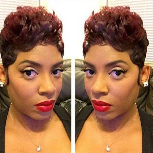 Short Hair for Black Women-8