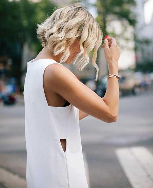 Wavy Short Hair-8