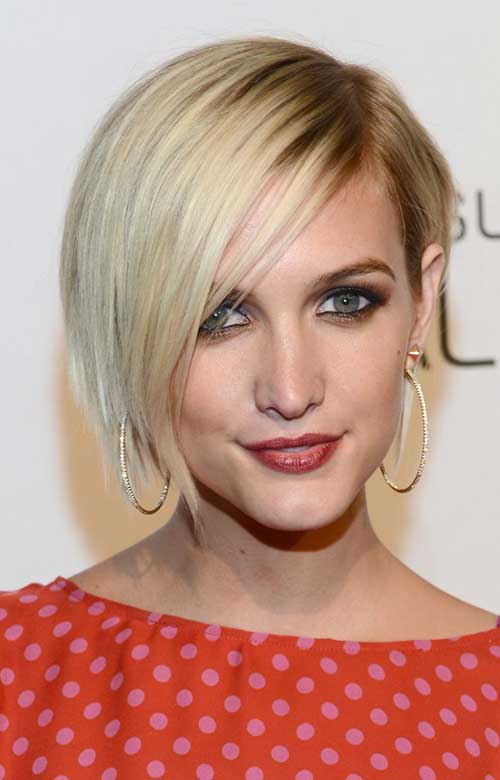 Celebrity with Short Hair-9