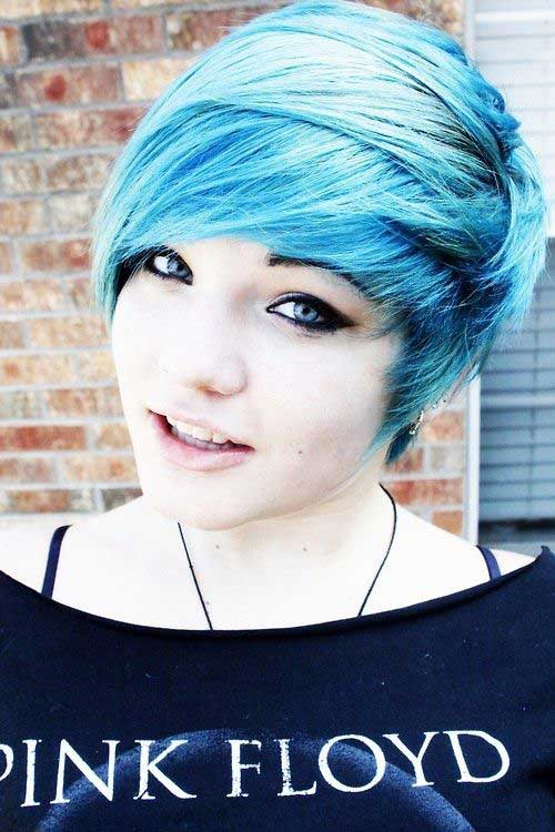 Pixie Hairstyles for Round Faces-9
