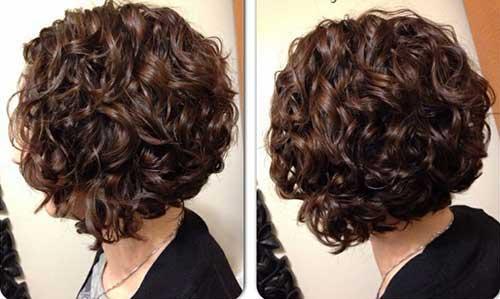 Short Curly Brown Hair-9