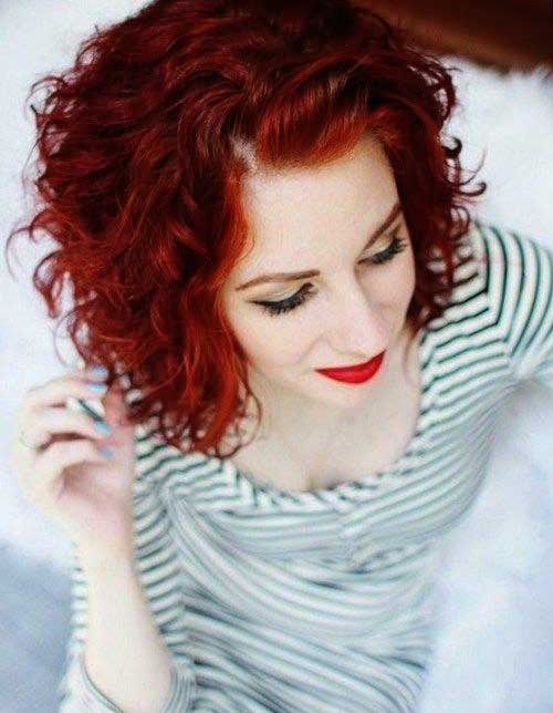 Short Red Curly Hair – pt e