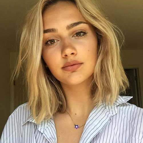 Gorgeous short hairstyles for round face shape the best short best short haircuts for round faces urmus Images