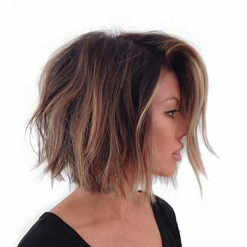 Blonde Ombre On Short Hair