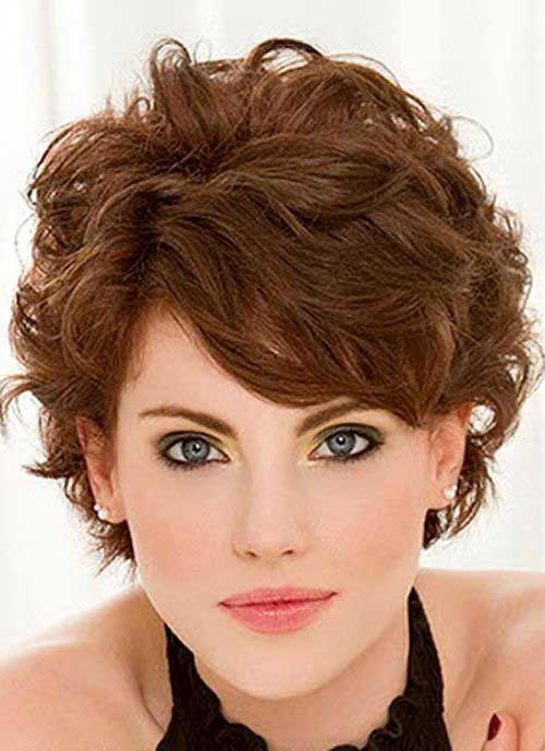 Hairstyles for Short Thick Wavy Hair
