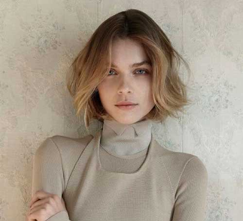 Ombre Short Blonde Hair