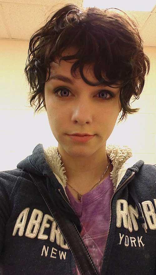 Pixie Curly Hair