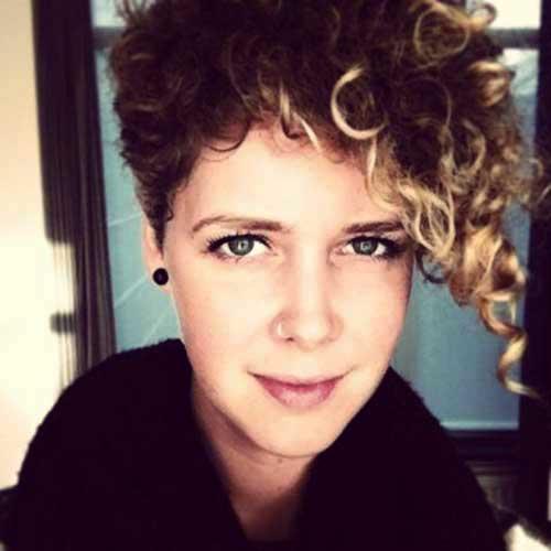 Pixie Haircut Curly Hair