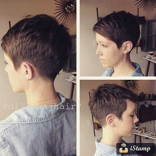 Hairstyles 2017 Pixie Cut : Angel Short Haircuts, Haircuts and Shorts
