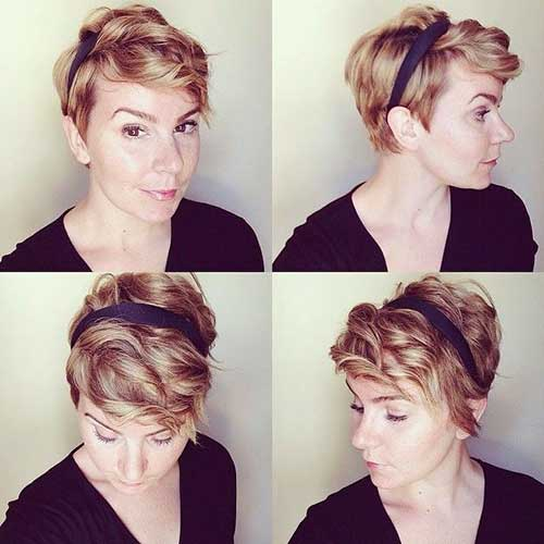 Pixie Cuts for Wavy Hair