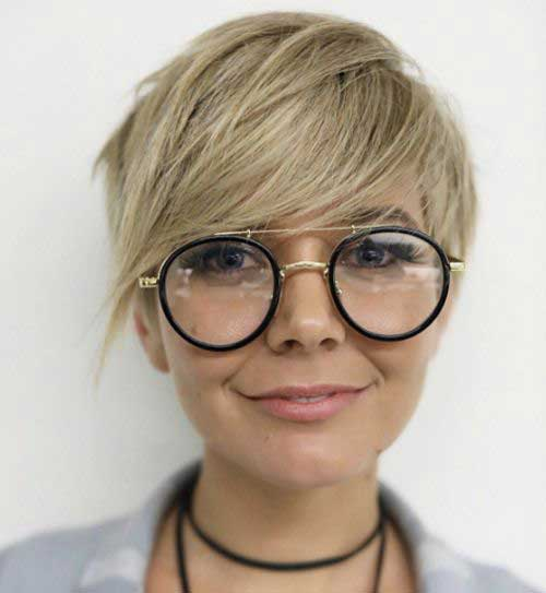 Short Hair Cuts for Round Faces