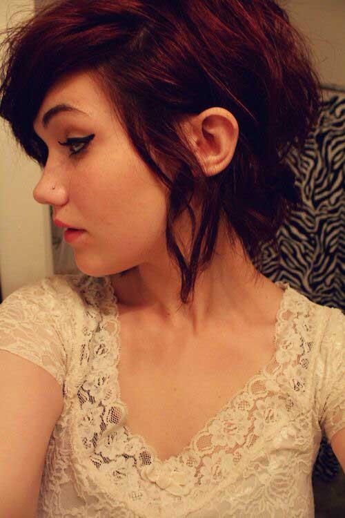 Short Haircut for Wavy Hair