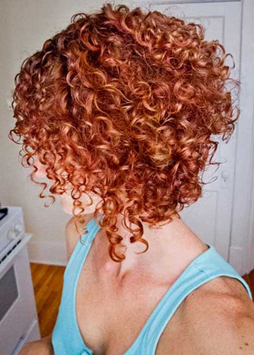 20 popular short red curly hair hairstyles