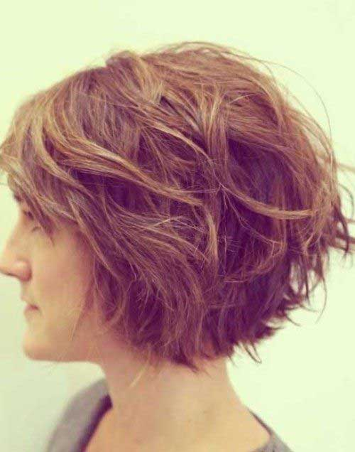 Best Short Haircuts For Wavy Thick Hair : Short haircuts for thick wavy hair the best