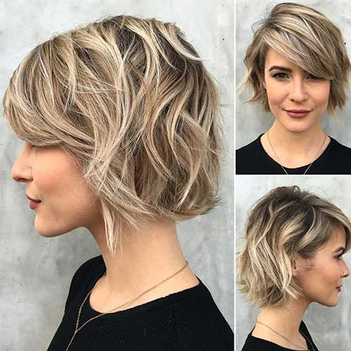 Wavy Short Hair