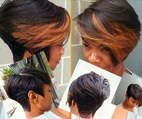 Bob Cut Hairstyles for Black Ladies-10