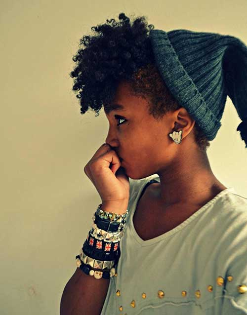 Cute Hairstyles for Black Girls-10