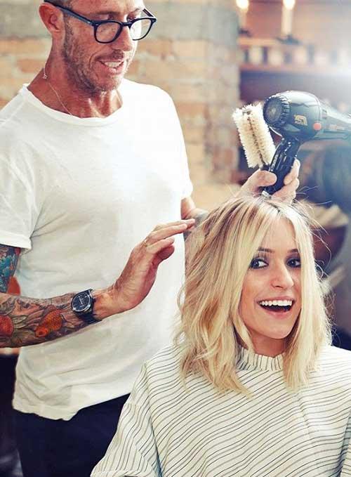 Blonde Short Hair-11