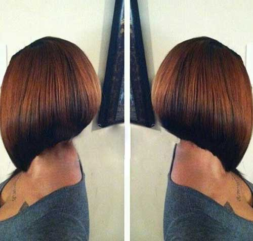 Bob Cut Hairstyles for Black Ladies-11
