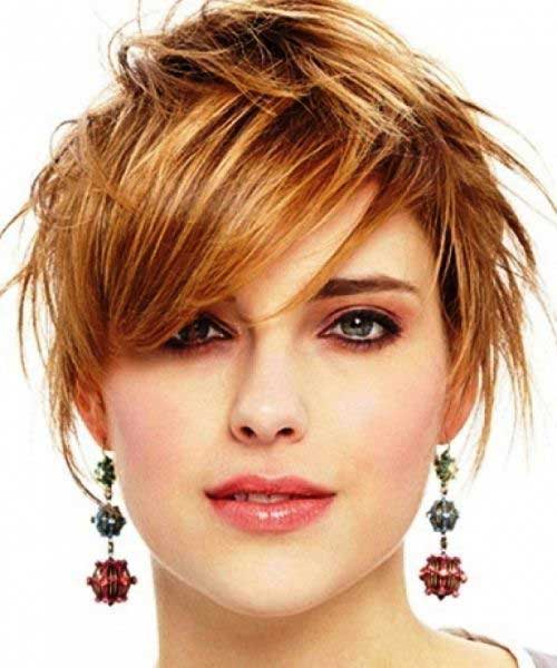 Cute Short Hairstyles for Girls-11