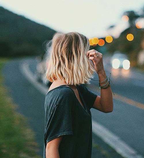 Blonde Short Hair-12