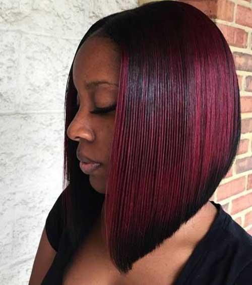 Bob Cut Hairstyles for Black Ladies-12