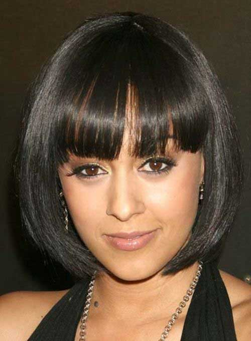 Bob Cut Hairstyles for Black Ladies-13