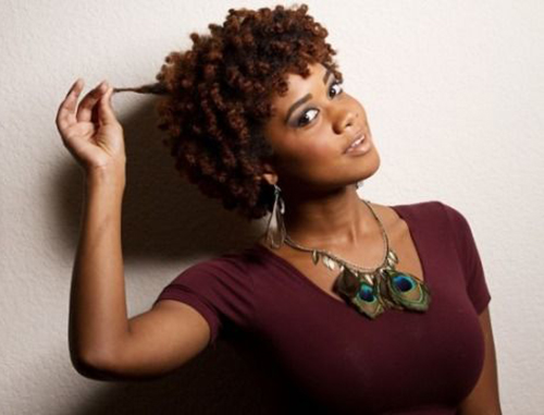 Curly Short Hairstyles for Black Women-14