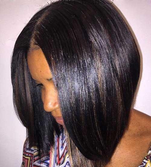 Bob Cut Hairstyles for Black Ladies-15