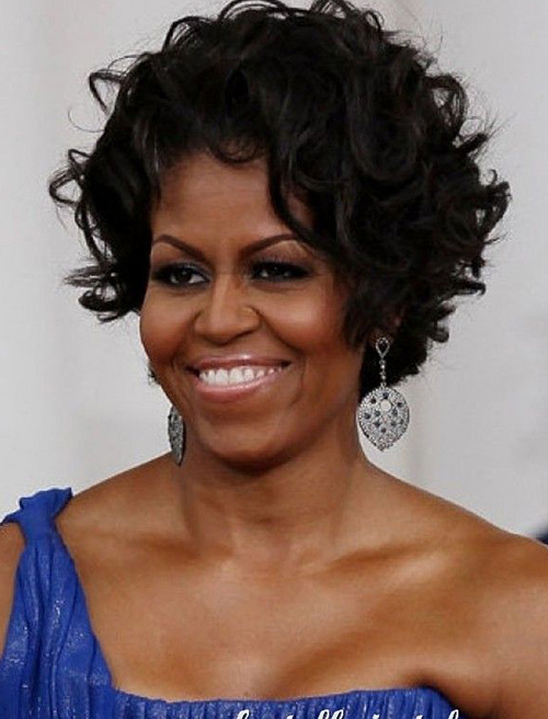 Curly Short Hairstyles for Black Women-15