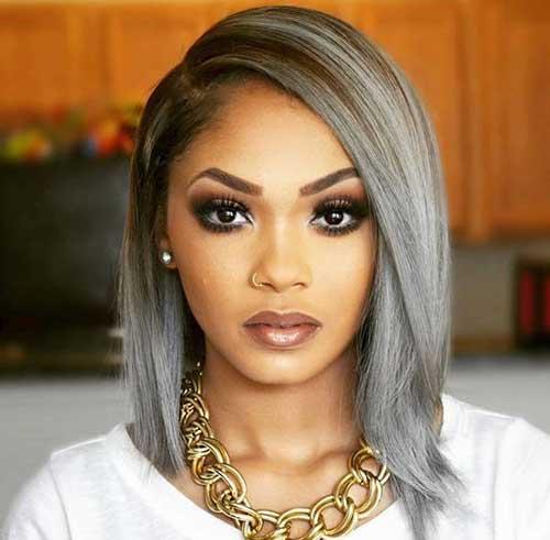 Bob Cut Hairstyles for Black Ladies-16