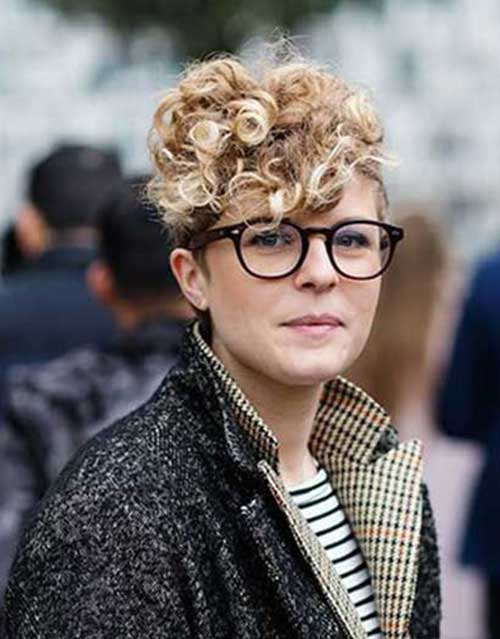 Curly Short Hairstyles 2015-16