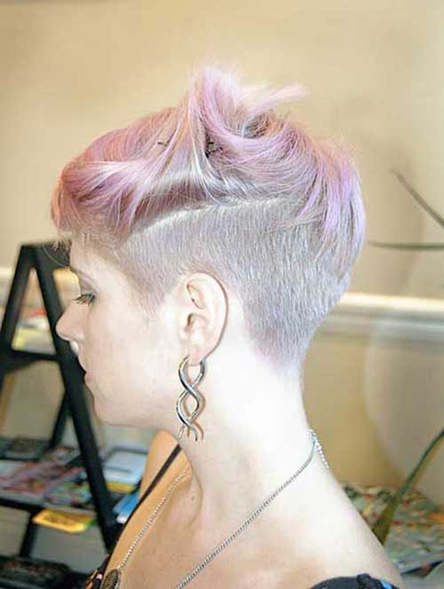 Short Hair Colour Trends 2015-16